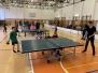 Vánoční turnaj v ping pongu